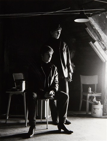 astrid_kirchherr_john_lennon_and_george_harrison_____attic