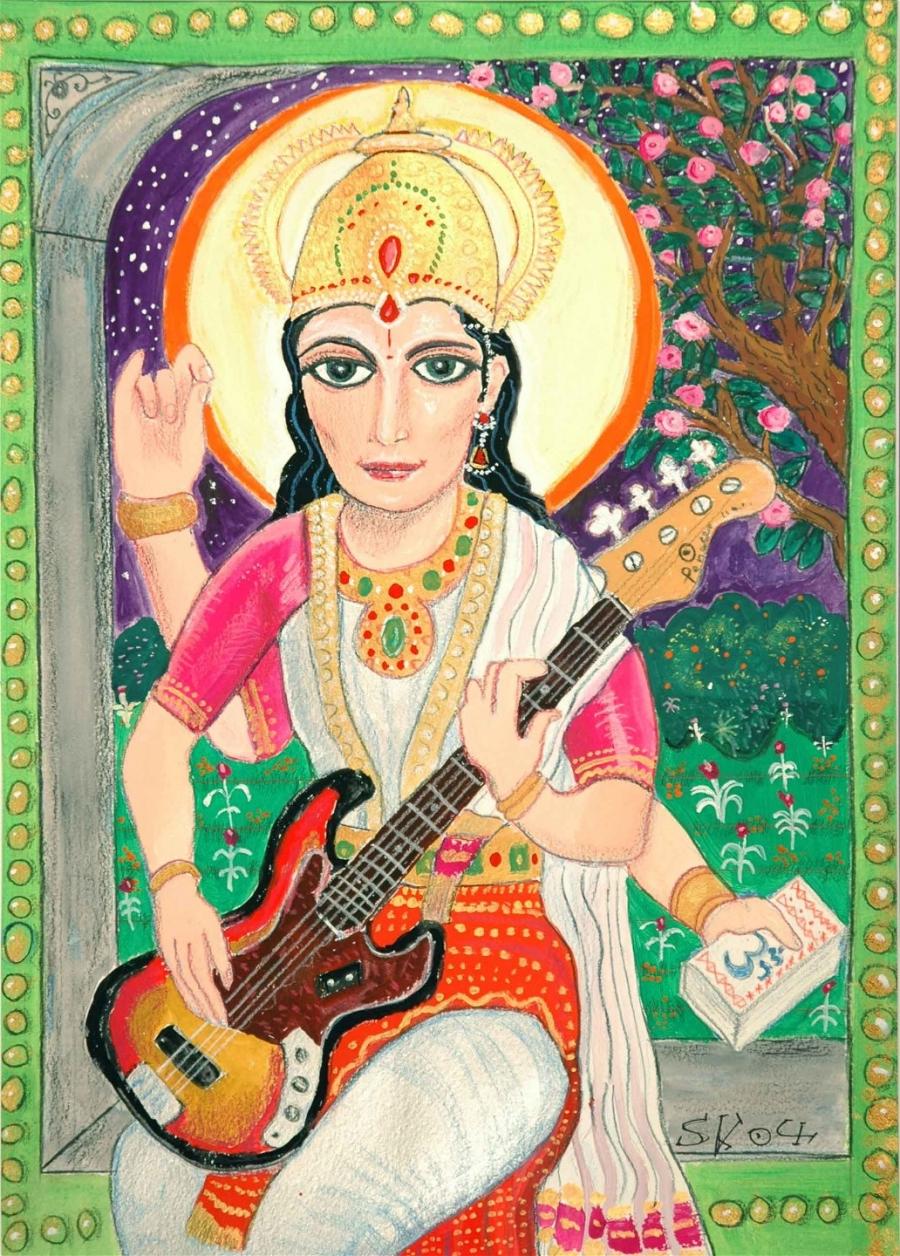 saraswati_w_fender_bass