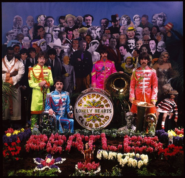 The Beatles Sgt Pepper S Cover 2017 An Image For All