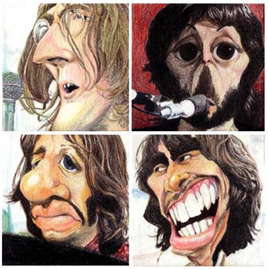 beatles_caricature_8080