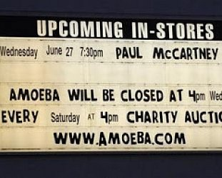 PAUL McCARTNEY: AMOEBA GIG, CONSIDERED (2007/2019): That was him standing there