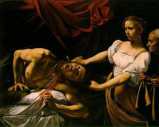 CARAVAGGIO, MAN AND MYSTERY (Arts Channel doco): The cut and thrust of art