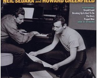 Various Artists; Where the Boys Are; The Songs of Neil Sedaka and Howard Greenfield (Ace/Border)