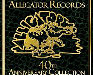 ALLIGATOR RECORDS 1971 - 2011: Four decades of brittle and often brilliant blues