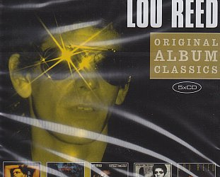 THE BARGAIN BUY: Lou Reed; Original Classic Album Series