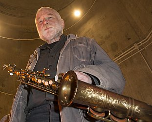 Peter Brotzmann; Silo Park, Auckland. May 3, 2014