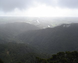 Denniston, West Coast, New Zealand: Damned and damp