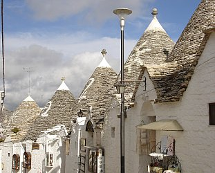 Alberobello, Italy: Toytown in late summer
