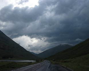Glencoe, Scotland: The past on the wild wind