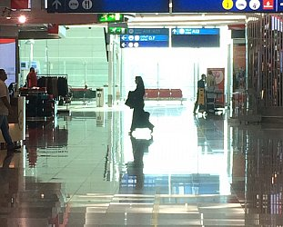 Dubai International Airport: Aww mama, can this really be the end . . .