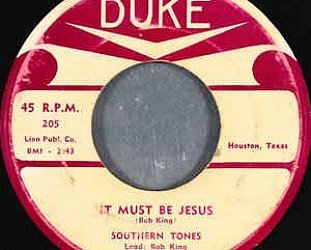 Southern Tones: It Must Be Jesus (1954)