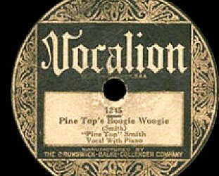 Pine Top Smith: Pine Top Boogie (1928)