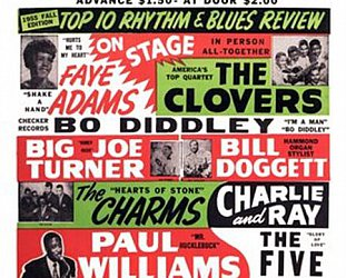 WHEN ROCK STARTED ROLLING (2013): Black rhythm and blues goes white
