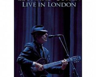 BEST OF ELSEWHERE 2009 Leonard Cohen: Live in London (DVD, Sony)