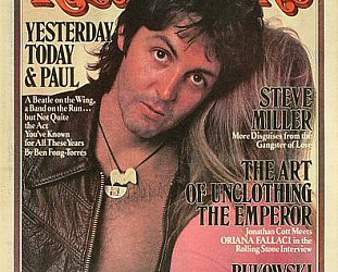 PAUL McCARTNEY SOLO CAREER; PART 1, 1970-80: Success in the Seventies