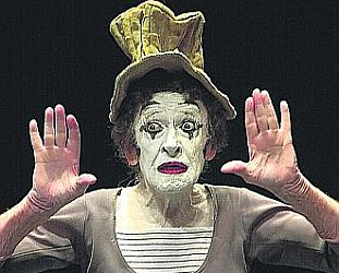 MARCEL MARCEAU INTERVIEWED (2001): It's all talk, talk, talk . . .