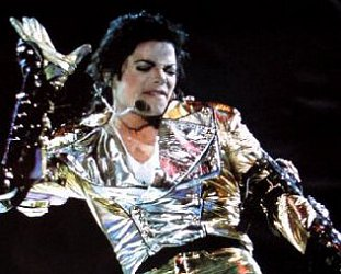 MICHAEL JACKSON; LIVE IN '96: The man who fell to Earth