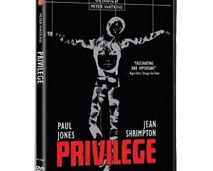 PRIVILEGE, a film by PETER WATKINS, 1967 (Universal DVD)