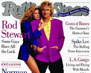 ROD STEWART INTERVIEWED : Too often the singer, not the songs
