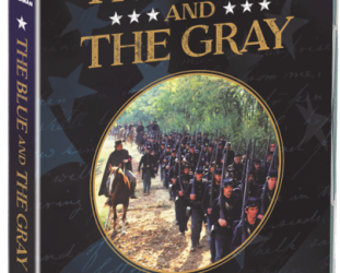 THE BLUE AND THE GRAY, a tele-series by ANDREW V McLAGLEN (Madman DVD)