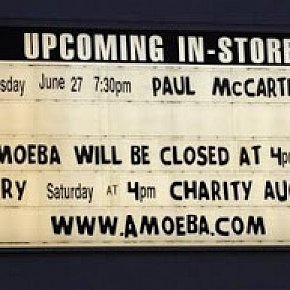 PAUL McCARTNEY, AMOEBA GIG CONSIDERED (2019): That was him standing there