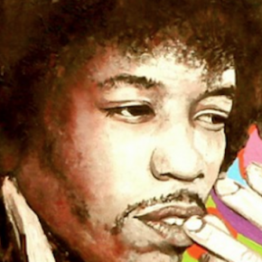 UNRELEASED HENDRIX STUDIO SESSIONS DISCOVERED (2018): Young man blowing his horn
