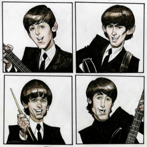 THE BEATLES AS COMIC AND CARTOON CHARACTERS (2020): The greatest story ever sold, and sold again . . .