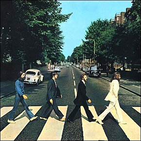 THE BEATLES, ABBEY ROAD (2009): A classic from the cover on in