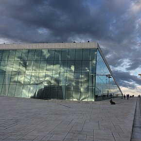 THE NEW ARCHITECTURE OF OSLO, PART THREE (2017): Operaen; The Norwegian National Opera and Ballet