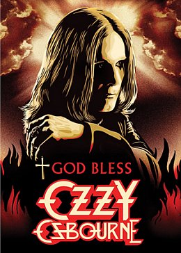 GOD BLESS OZZY OSBOURNE, a doco by MIKE FLEISS and MIKE PISCITELLI (Eagle Rock DVD)