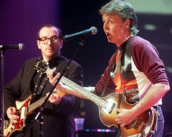 Paul McCartney and Elvis Costello: My Brave Face (1988 demo)