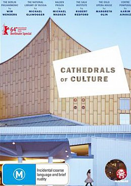 CATHEDRALS OF CULTURE, a documentary on great buildings by VARIOUS FILMMAKERS (Madman DVD)