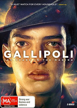 GALLIPOLI, a television series by GLENDYN IVIN (Roadshow DVD/Blu-Ray)