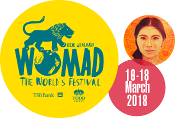 THE EVER- EXPANDING LINE-UP FOR WOMAD 2018: The world coming to Taranaki