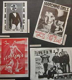 GUEST ARTIST TERENCE HOGAN on the exhibition of his band posters and covers in Auckland