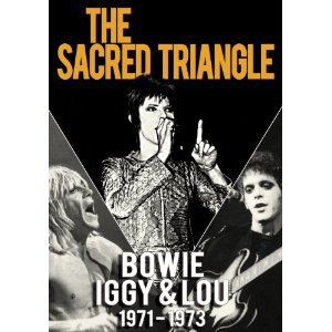 THE SACRED TRIANGLE; BOWIE, IGGY AND LOU 1971-1973 (Sexy Intellectual/Triton DVD)