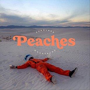 Sunglass Moustache: Peaches (digital outlets)