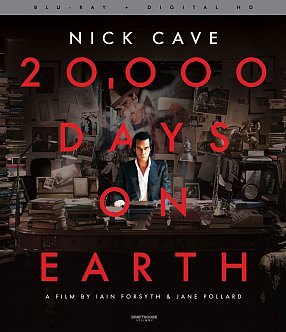 20,000 DAYS  ON EARTH, a film by IAIN FORSYTH and JANE POLLARD (Madman DVD)