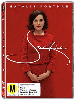 JACKIE, a film by PABLO LARRAIN (Universal DVD/BluRay)