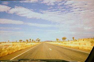 Outback, Australia: The speed of the sound of loneliness