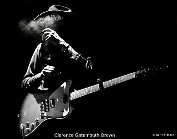 Clarence 'Gatemouth' Brown and Billy Joel: Bad cop, good guy