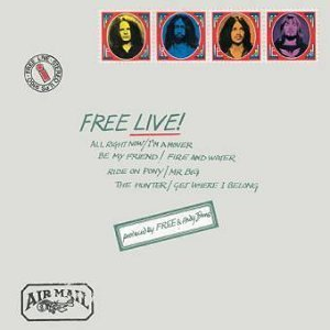 RECOMMENDED REISSUE: Free; Live! (Universal)