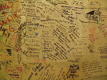 Far North Queensland, Australia: The writing's on the wall