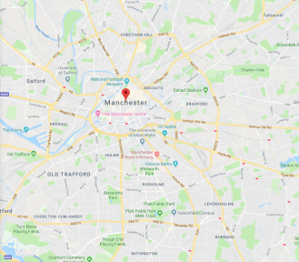 MANCHESTER, IN THE MEANTIME (2019): Location location location