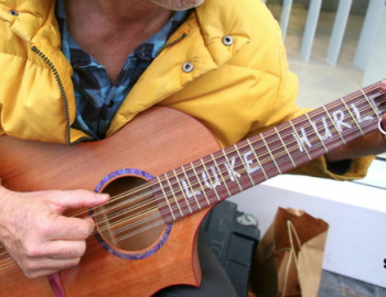 GUEST MUSICIAN LUKE HURLEY shares a portrait of the artist as a young itinerant