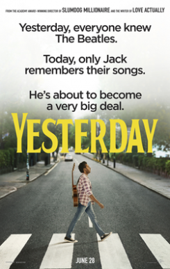 YESTERDAY, a film by DANNY BOYLE