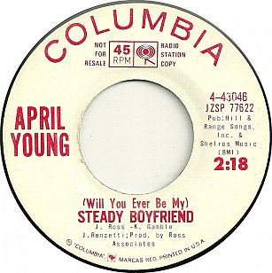 April Young: Will You Ever Be My Steady Boyfriend (1964)
