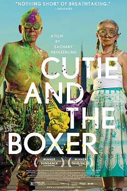CUTIE AND THE BOXER a doco by ZACHARY HEINZERLING (Madman DVD)