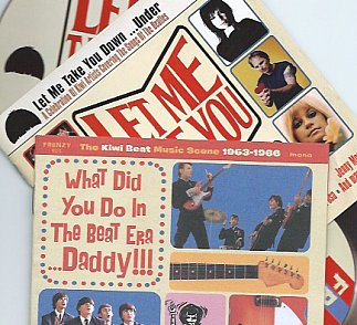 Various Artists: What Did You Do in the Beat Era . . . Daddy!!!; Let Me Take You Down  . . . Under (both Frenzy)