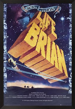 MONTY PYTHON'S LIFE OF BRIAN, 30 YEARS ON (2009): Still a bit of a naughty boy